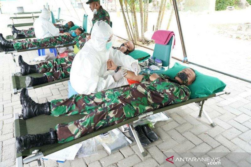 TNI Polri dan ASN sumbang 50 persen pasokan darah selama pandemi