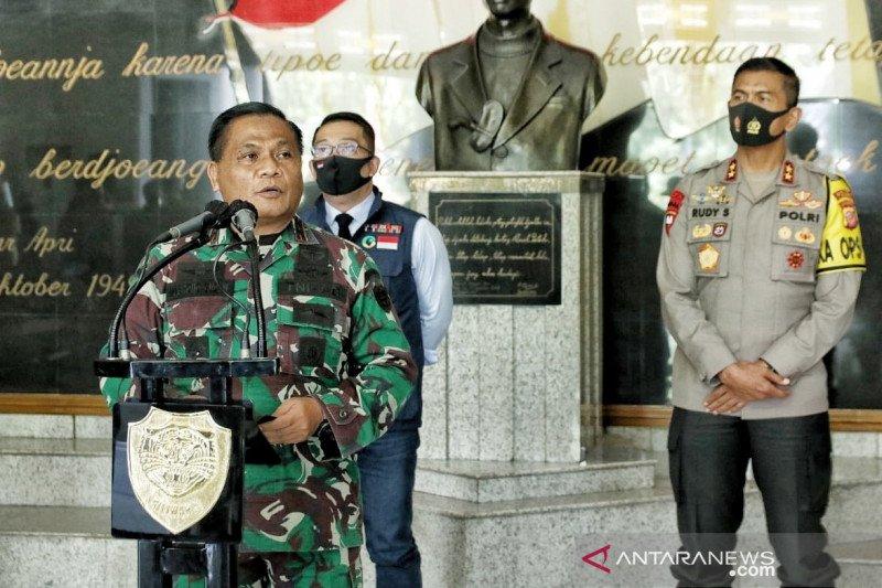 Pangdam Siliwangi sebut ada anggota TNI positif COVID-19