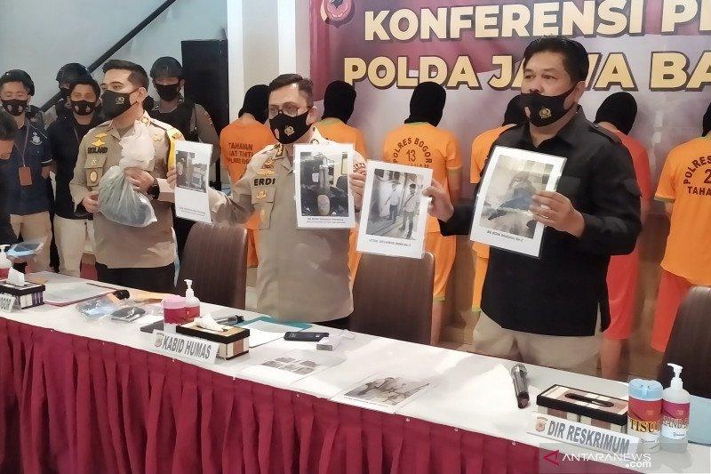Polisi: Pelemparan bom molotov di Bogor terkait foto Rizieq dibakar