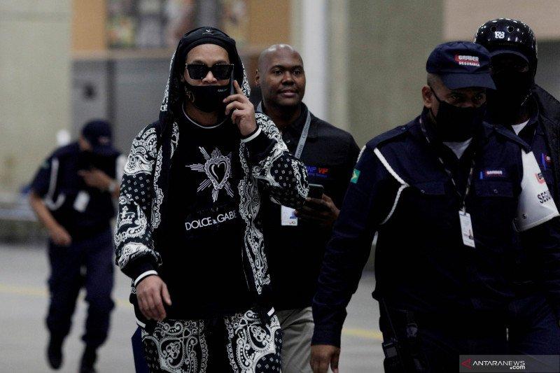 Ronaldinho tiba di Rio de Janeiro