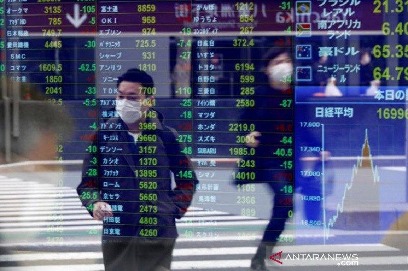 Saham Tokyo ditutup lebih tinggi didukung data kuat perdagangan China