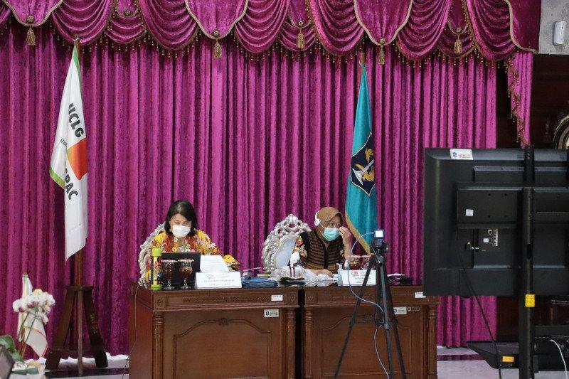 Presiden UCLG Aspac teken MoU beasiswa pendidikan dengan Xi'an