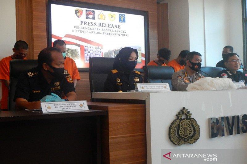 Bareskrim ciduk eks polisi jadi anggota sindikat narkoba internasional