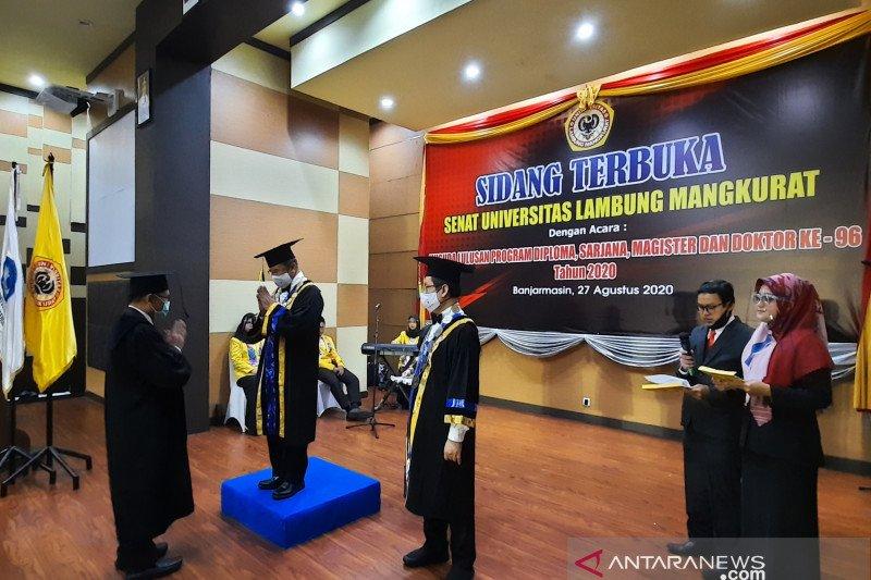 Universitas Lambung Mangkurat gelar wisuda virtual
