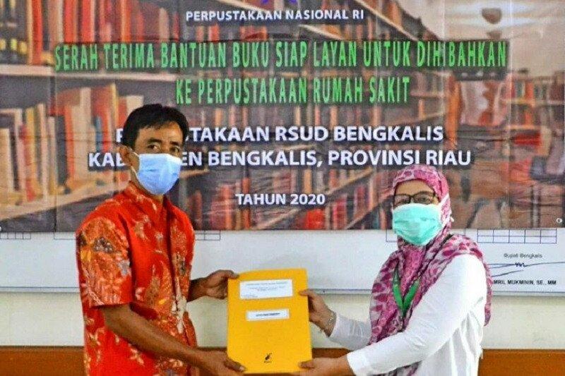RSUD Bengkalis terima bantuan 500 buku dari Perpusnas