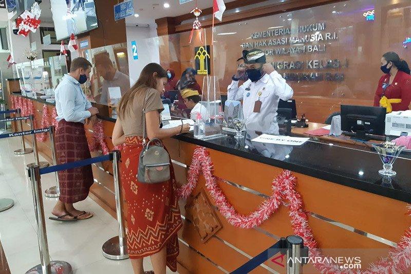 Imigrasi Ngurah Rai catat 1.851 turis asing telah ajukan ITK