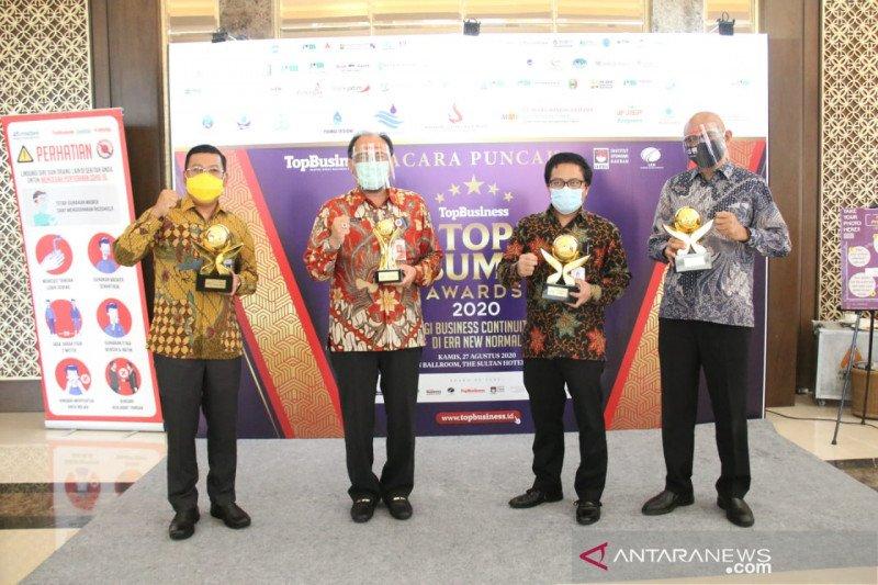 Bank DKI raih penghargaan sebagai BUMD terbaik
