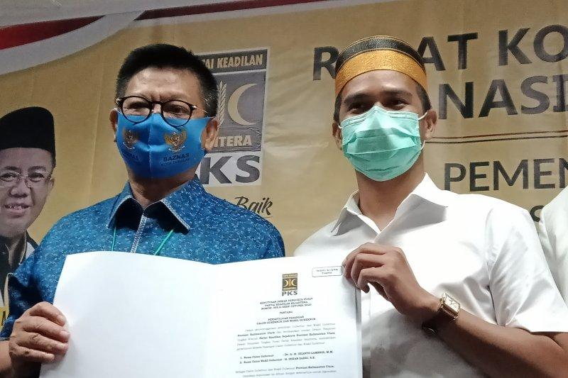 Pasangan IRAW mendapat rekomendasi dukungan dari PKS Pilkada Kaltara