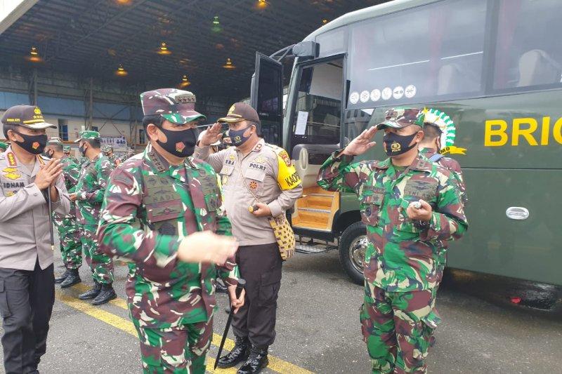 Panglima TNI dan Kapolri gelar pertemuan tertutup di Timika