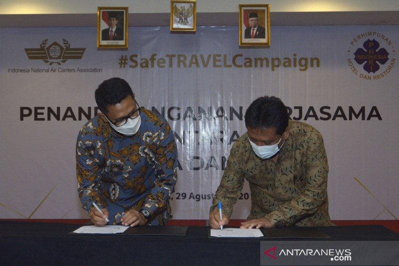 Instansi penerbangan-pariwisata kampanyekan perjalanan aman di Bali