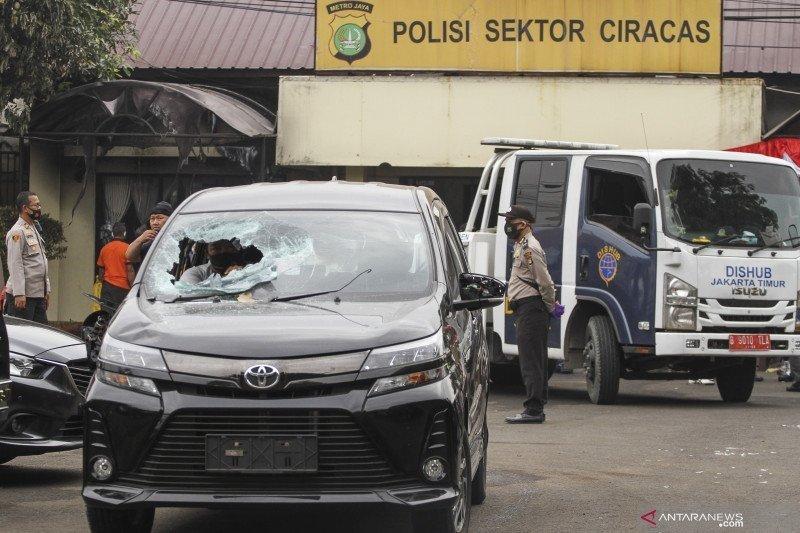 Polisi selidiki keterlibatan sipil dalam penyerangan Polsek Ciracas