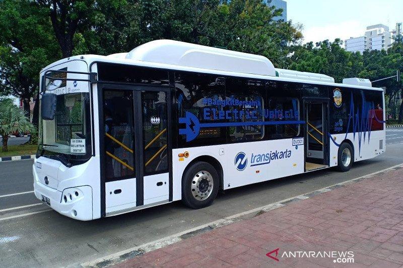 Uji coba bus listrik di Jakarta diapresiasi