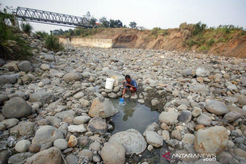 Kekeringan di Jonggol kabupaten Bogor