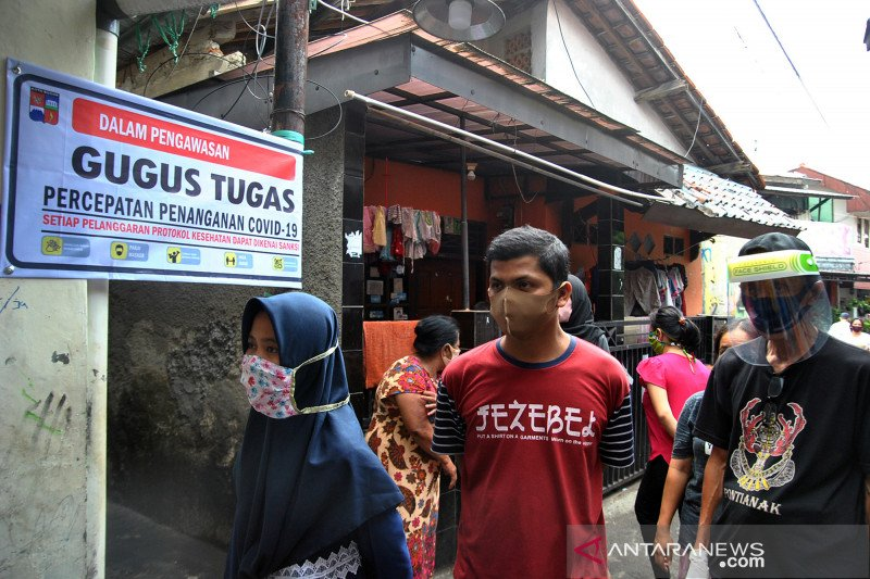Bogor jadi wilayah zona merah COVID-19, pemkot terapkan pembatasan sosial berskala mikro dan komunitas