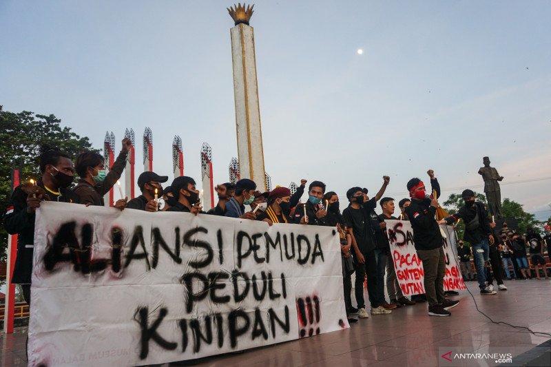 Effendi Buhing lapor ke Komnas HAM terkait penangkapan sewenang-wenang
