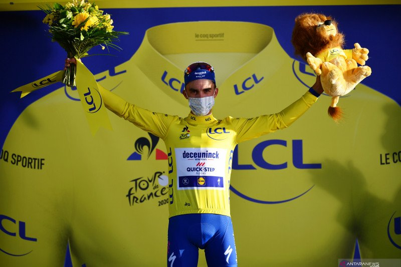 Klasemen sementara Tour de France setelah etape dua