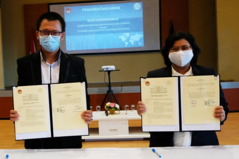 LPSK gandeng PDFI tentukan derajat luka korban terorisme masa lalu