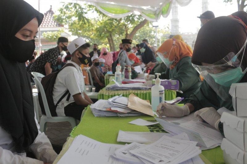 Kembali ke ponpes, santri baru Tebuireng Jombang wajib tes cepat