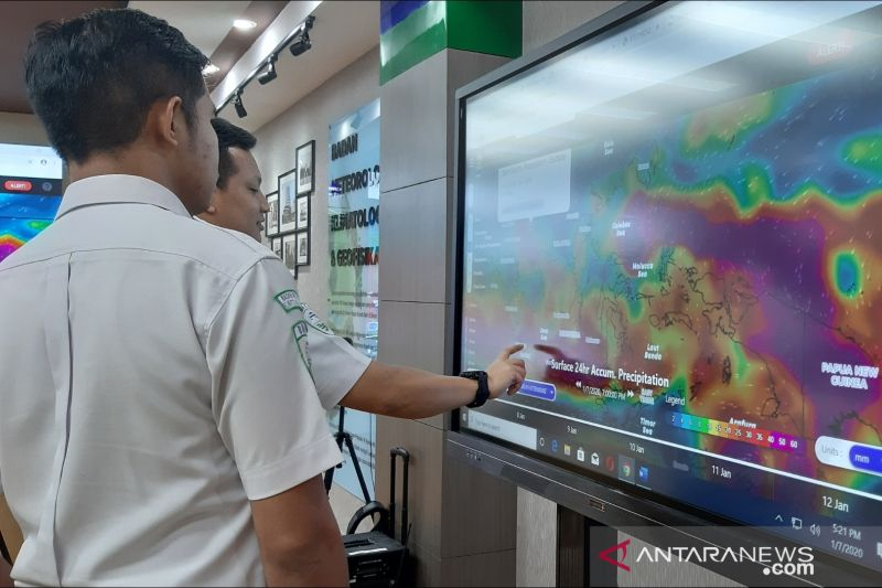 BMKG perkirakan Jakarta cuaca cerah berawan sepanjang Jumat