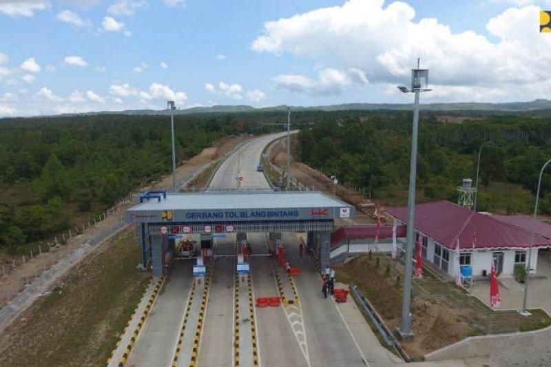 PUPR: Tol Trans Sumatera yang telah beroperasi sepanjang 648 kilometer