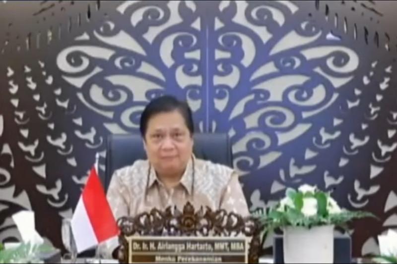 Airlangga: ekonomi Indonesia relatif lebih baik dibandingkan negara lain