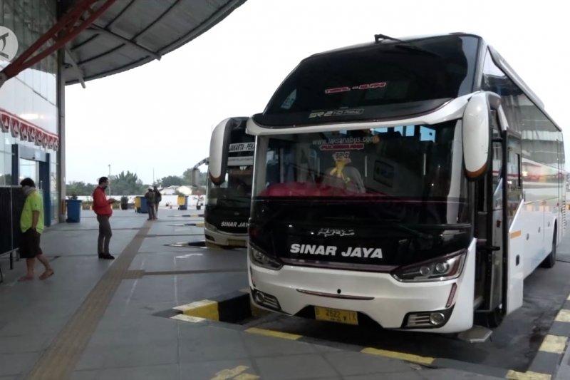 Arus balik di Terminal Pulogebang belum tinggi