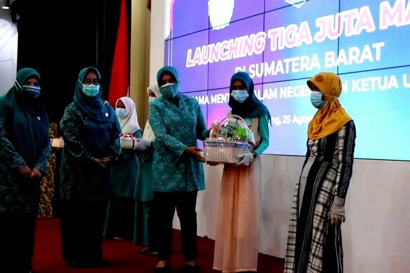 Gerakan 3 juta masker resmi diluncurkan di Sumbar