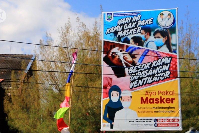NTB wajib masker, sanksi denda Rp500 ribu berlaku September 2020