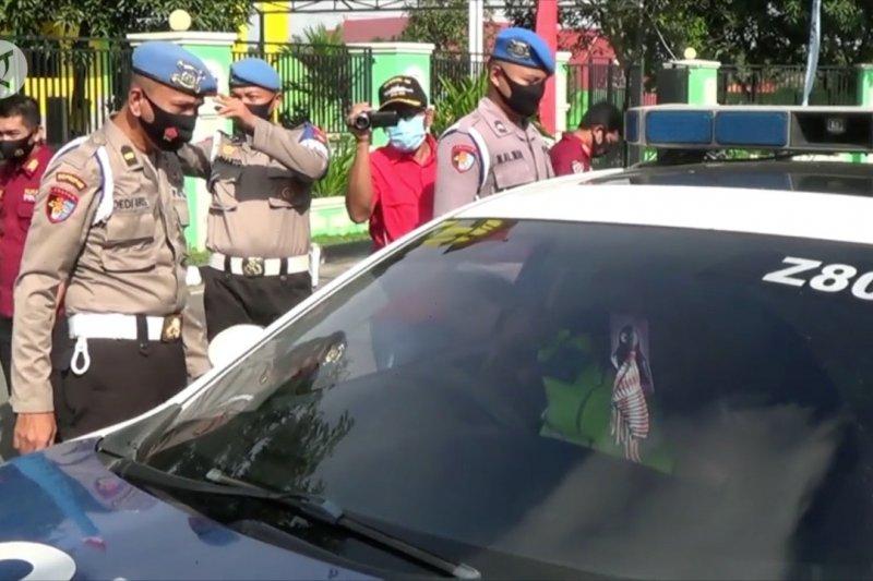 Puluhan anggota Polri terjaring penertiban penggunaan masker