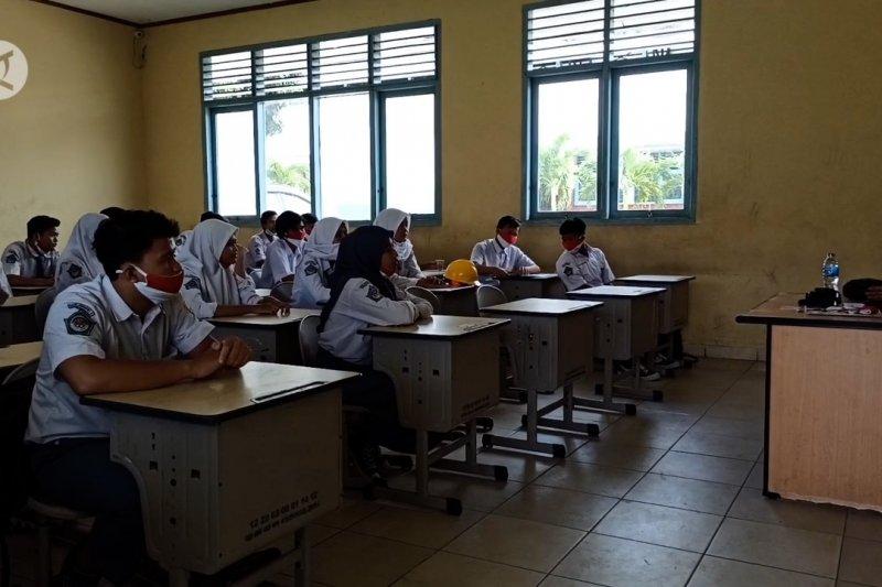 Sekolah di zona hijau gelar kegiatan belajar secara tatap muka