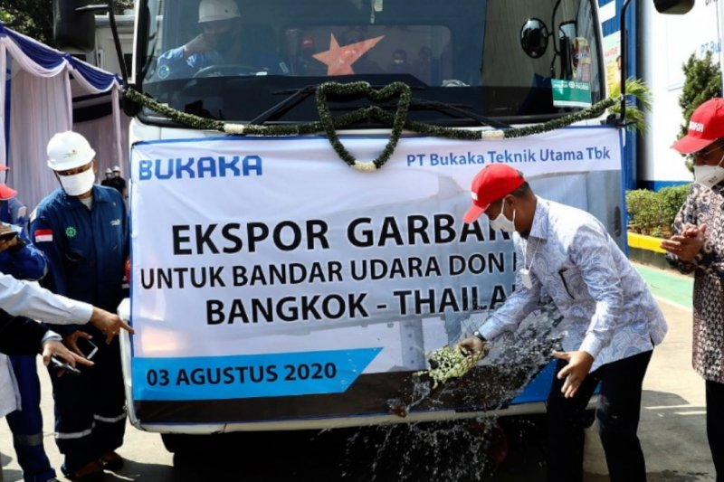 Menperin lepas ekspor 33 garbarata ke Thailand