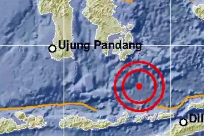 Gempa bumi magnitudo 6,9 dan 5,0 guncang Larantuka NTT