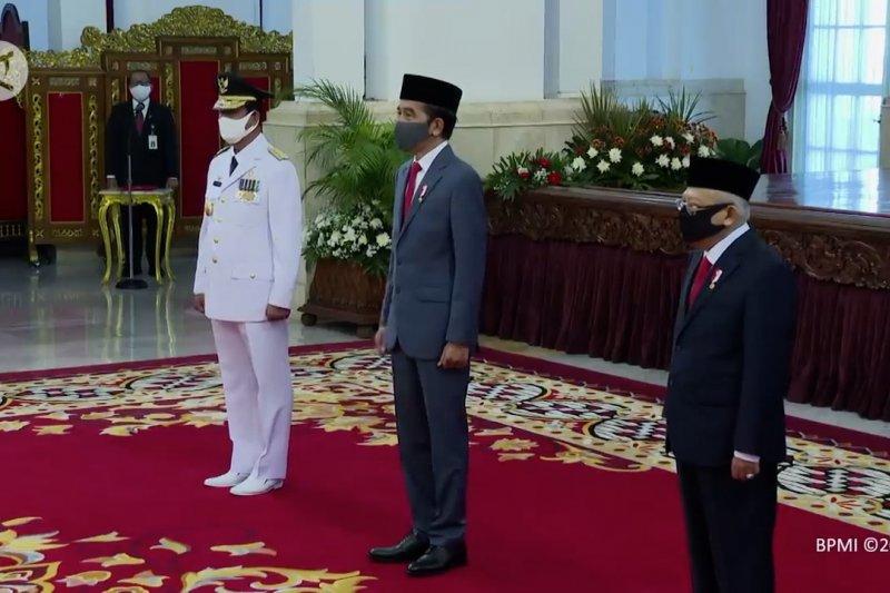 Kasetpres: Pelantikan Gubernur Kepri dilaksanakan dengan protokol kesehatan ketat