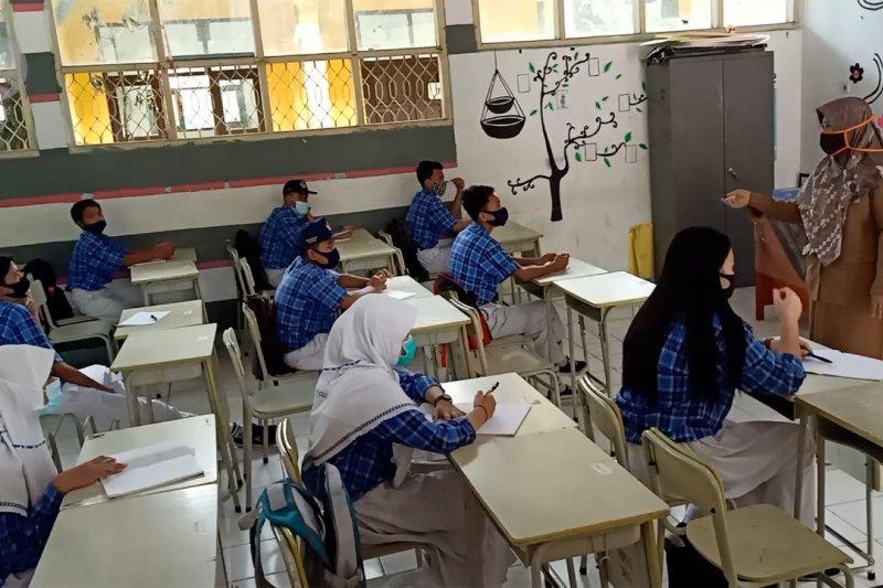 KPAI sebut mayoritas sekolah tatap muka belum siap terapkan protokol kesehatan