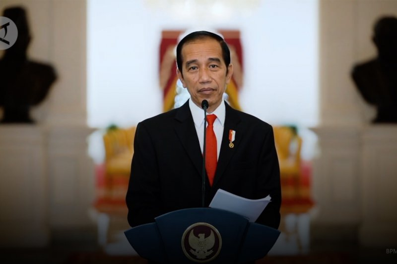 Presiden Jokowi harap kader Gerindra bantu negara lawan COVID-19