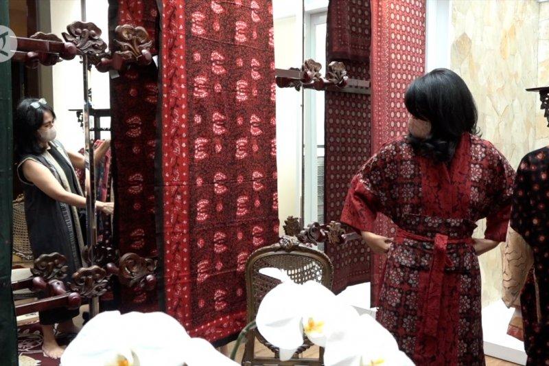 Pameran batik Jambi di Ibu kota agar perajin bertahan di tengah pandemi