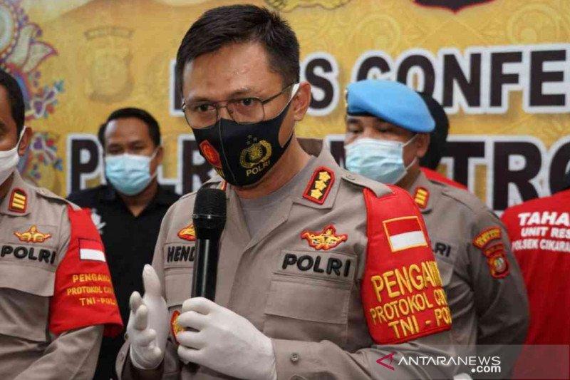 Polres Bekasi ringkus pengedar sabu-sabu bungkus permen