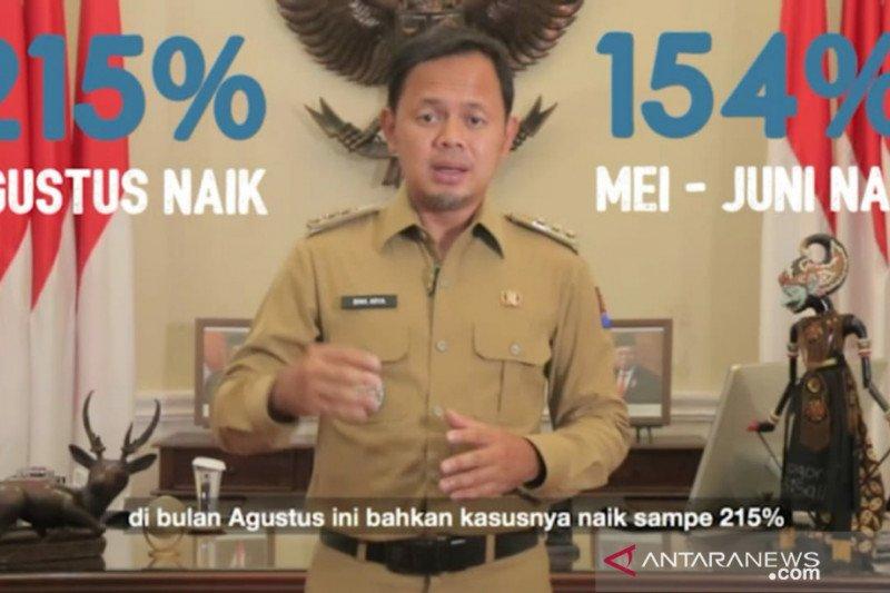 Wali kota sebut kasus COVID-19 di kota Bogor meningkat 215 persen