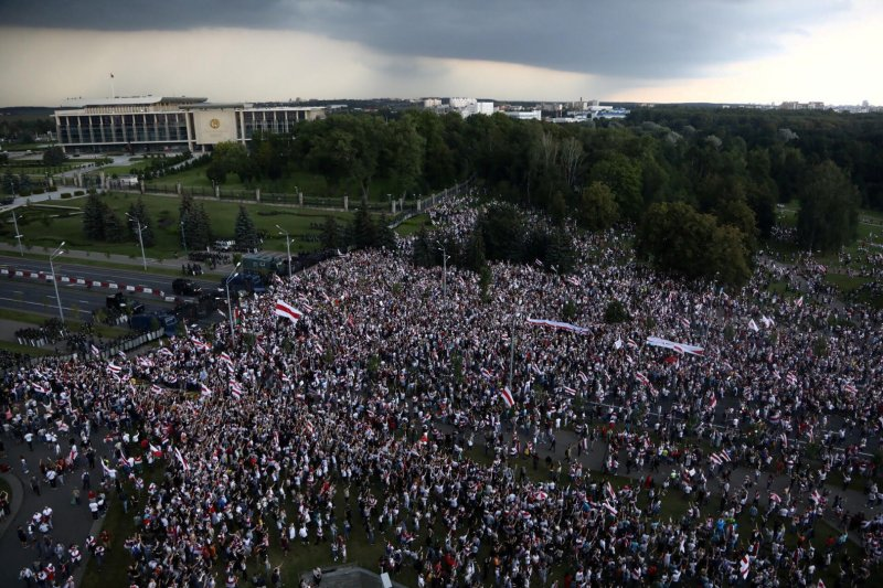 AS pertimbangkan beri sanksi untuk Belarus atas kecurangan pemilu