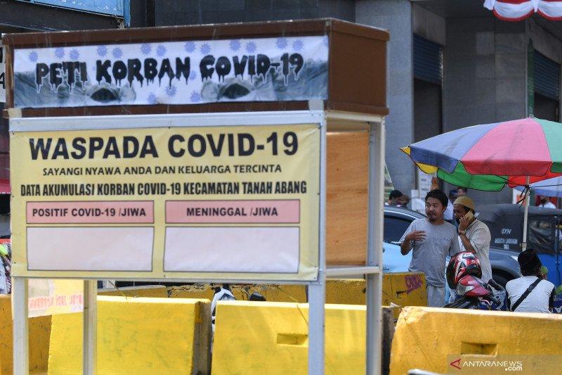 19 pasar tradisional di Jaktim  terdampak PSBB Total