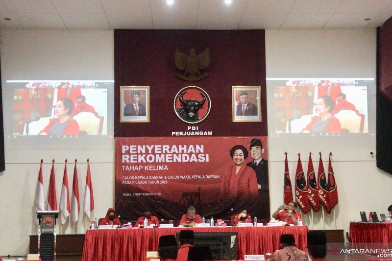 PDI Perjuangan usung Eri Cahyadi-Armuji untuk Pilkada Surabaya