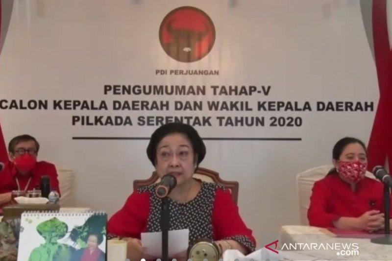 Megawati ancam kader tidak solid menangkan Pilkada