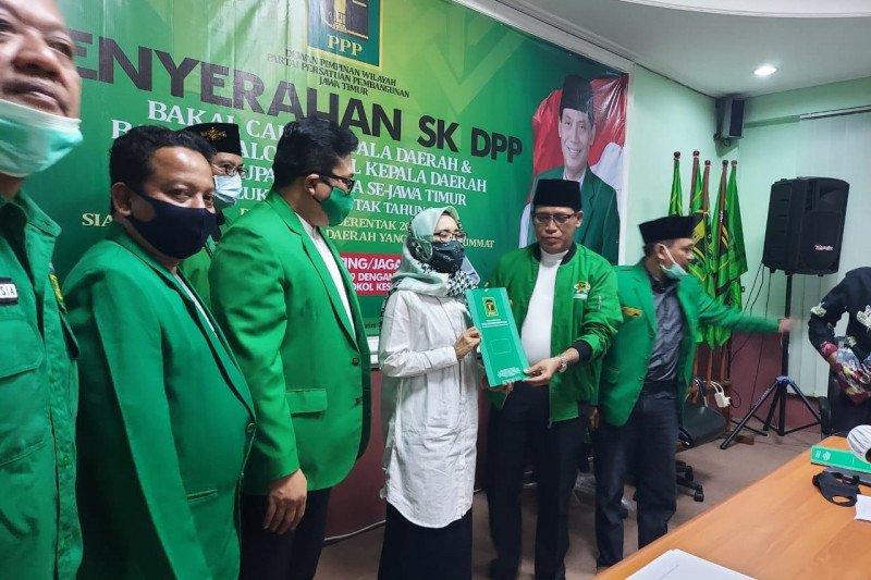 Pasangan Dhito-Dewi gaet seluruh rekomendasi partai politik di Kediri