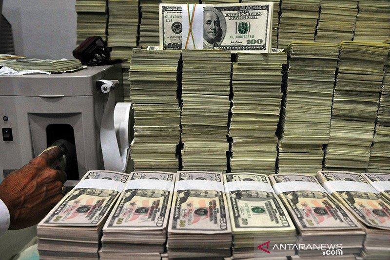 Dolar jatuh, toleransi risiko meningkat didukung prospek stimulus AS