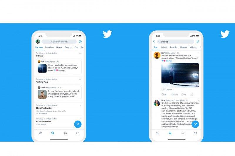 Penjelasan Twitter soal proses terjadinya
