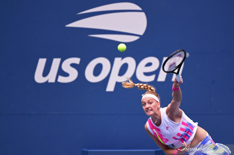 Tenis US Open: Kvitova melangkah ke babak ketiga setelah kalahkan Kozlova