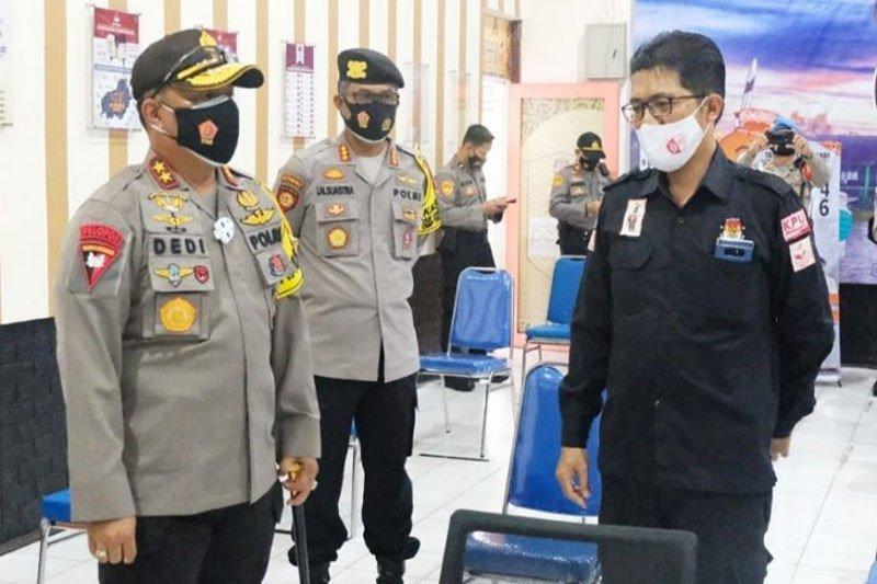Kapolda cek kesiapan KPU jelang pendaftaran peserta Pilkada Kalteng