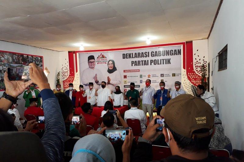 Anak Pramono Anung target raih 80 persen suara di Pilkada Kediri
