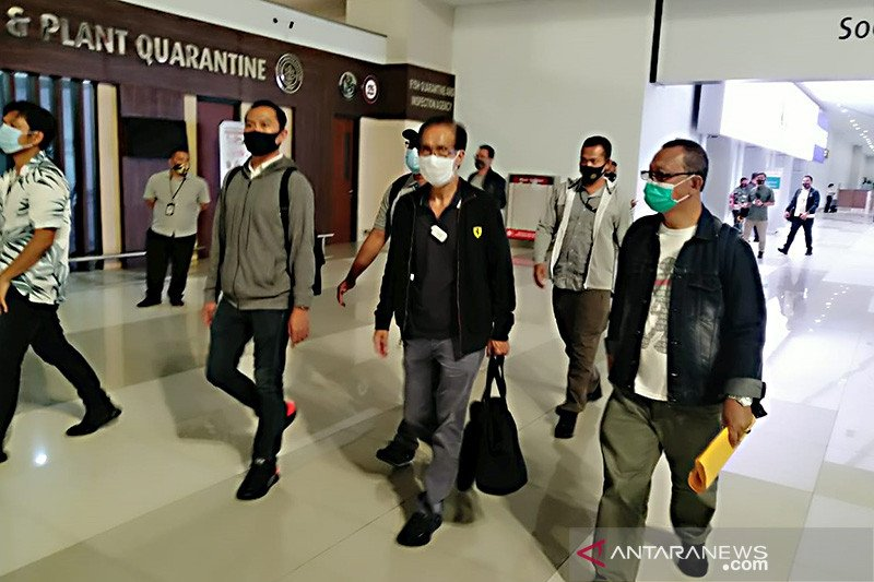 Polda Bali tangkap DPO Kartono Karjadi saat tiba di Indonesia