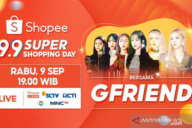 GFRIEND ramaikan Shopee 9.9 Super Shopping Day